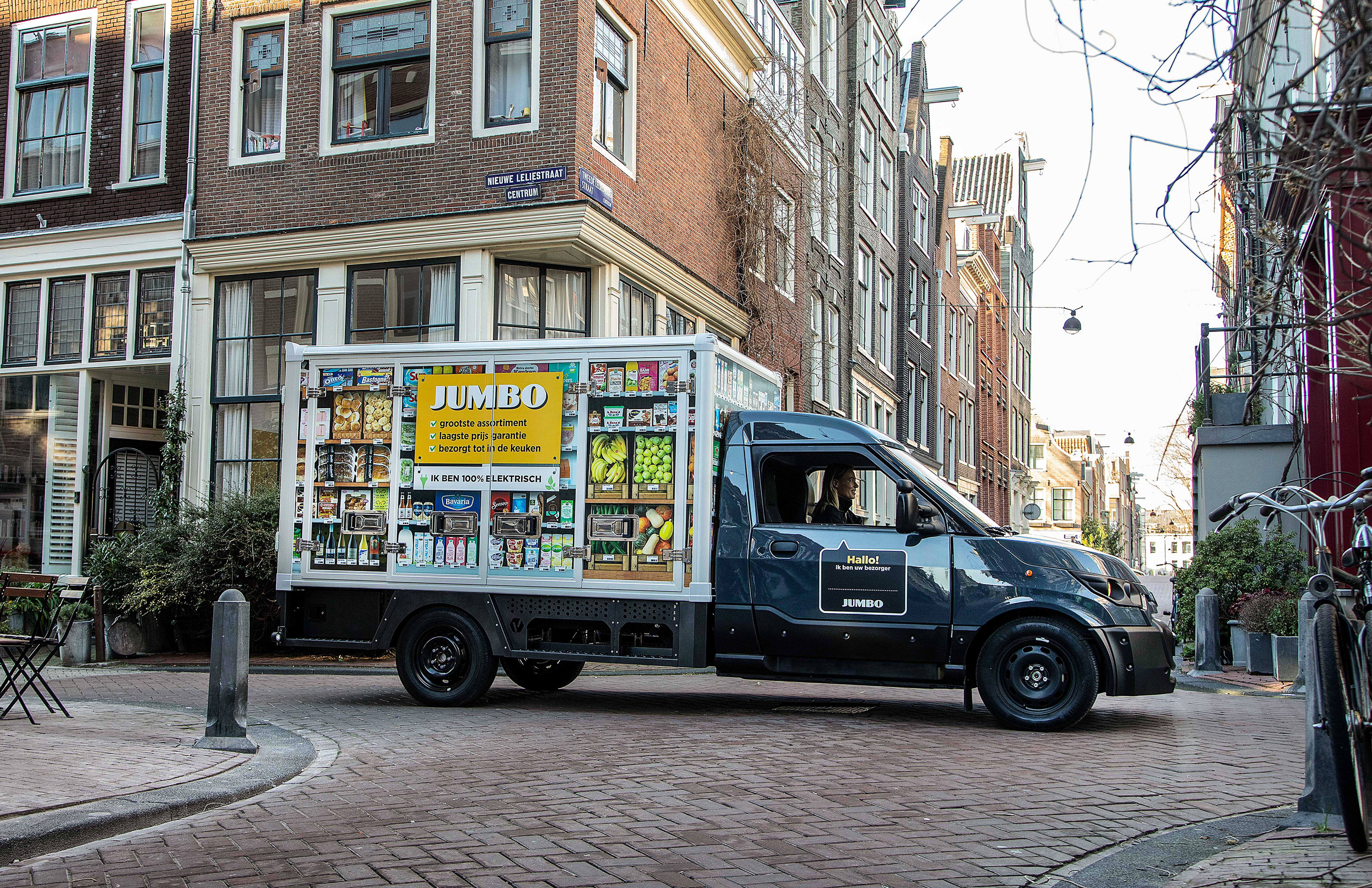 Jumbo bezorgservice Amsterdam