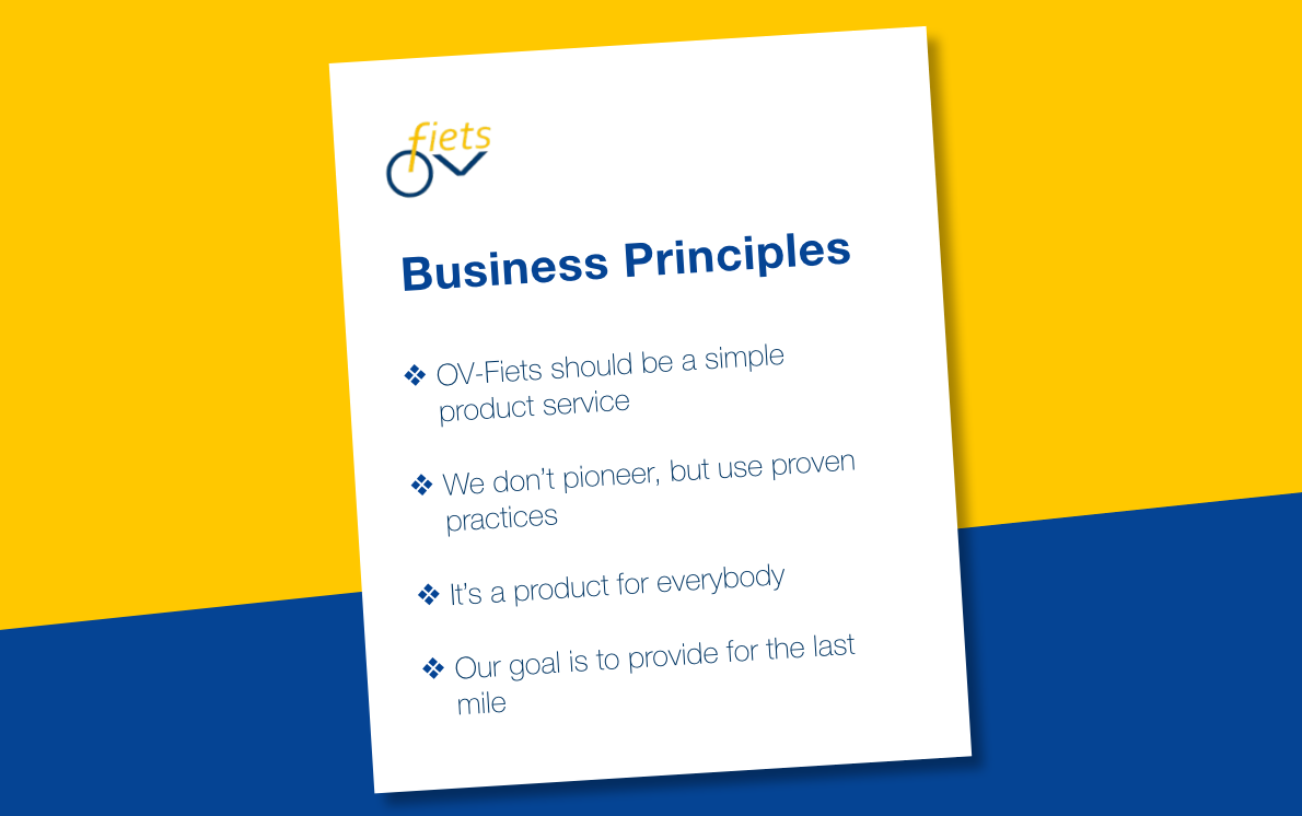 Basis principes OV-fiets