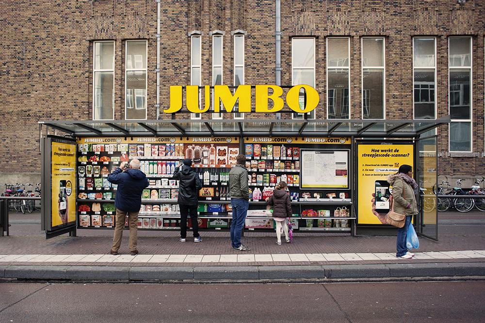Jumbo bushalte Neude